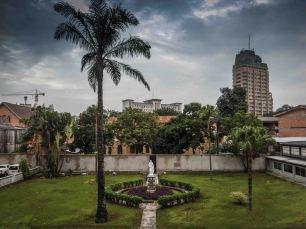 Kinshasai szállásunk